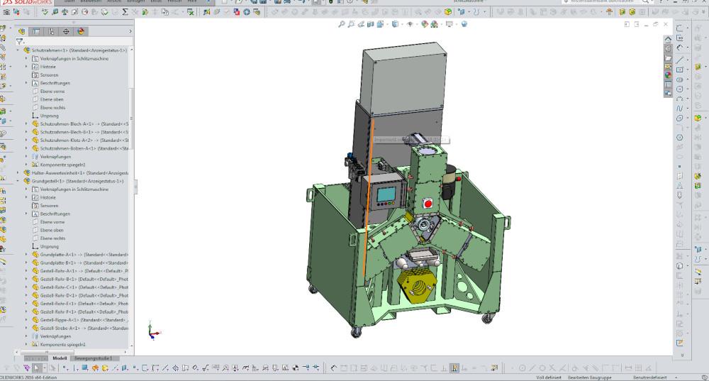 Konstruktion Sondermaschinenbau